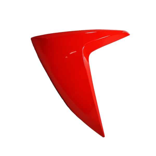 Cover L FR Red 64601-K46-N00WRD