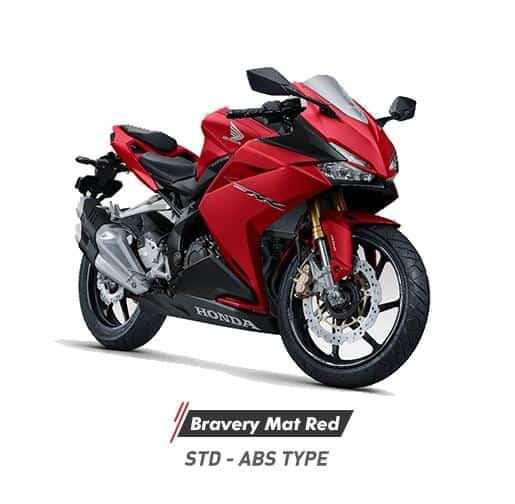 Honda CBR 250RR Bravery Mat Red