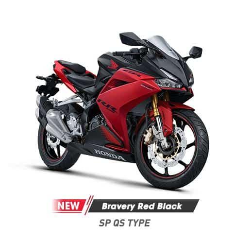 Honda CBR 250RR SP QS Bravery Red Black