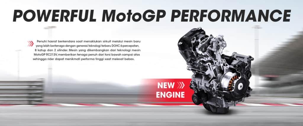 New Engine Honda CBR250RR