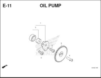 E11 Oil Pump