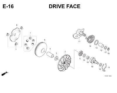 E16- Drive Face