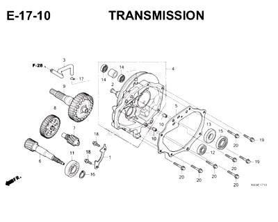 E17-10 Transmission