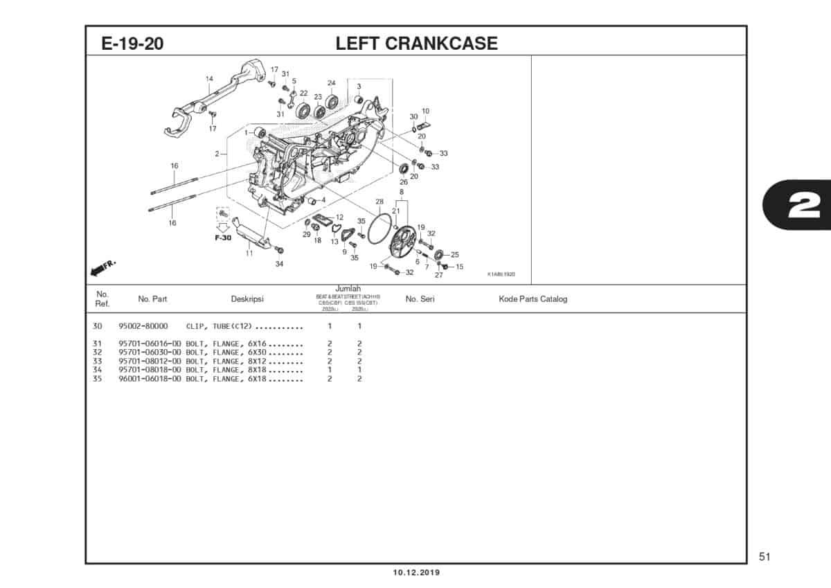 E19-20 Left Crankcase (2)