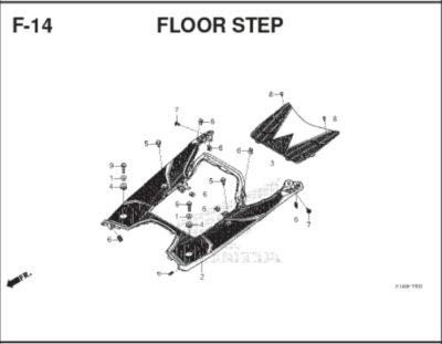 F-14 Floor Step