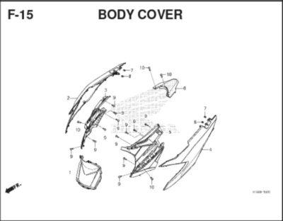 F-15 Body Cover SC