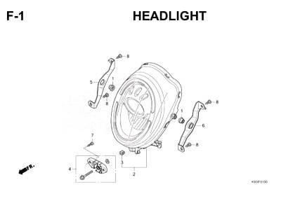 F1 - Headlight