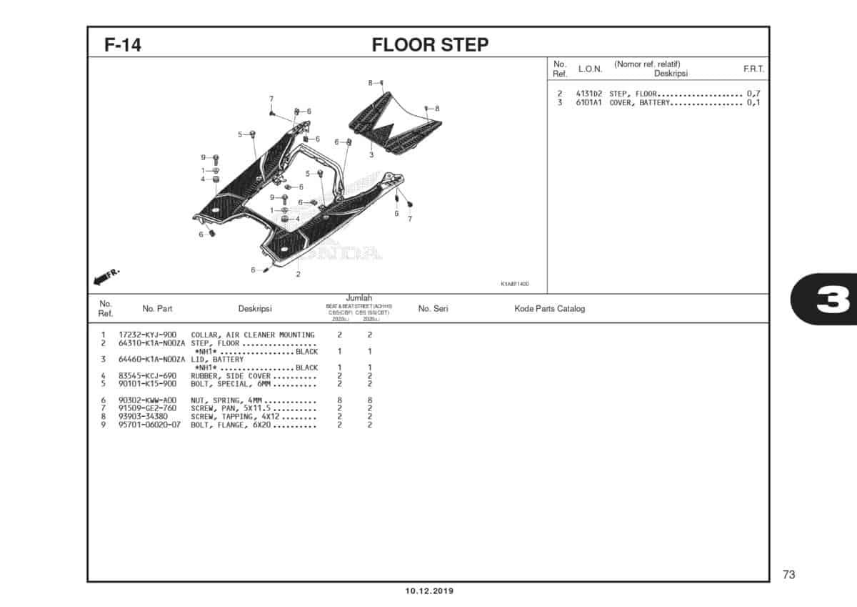 F14 Floor Step