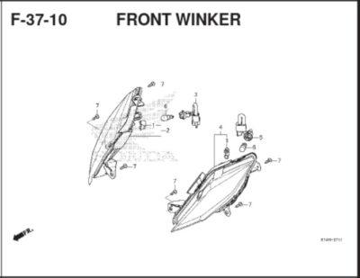 F37-10 Front Winker