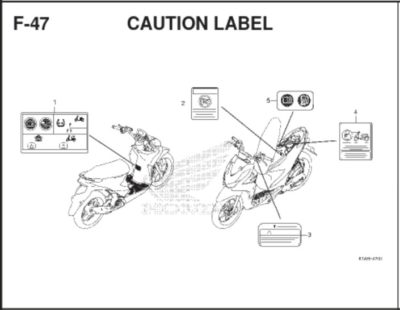F47 Caution Label