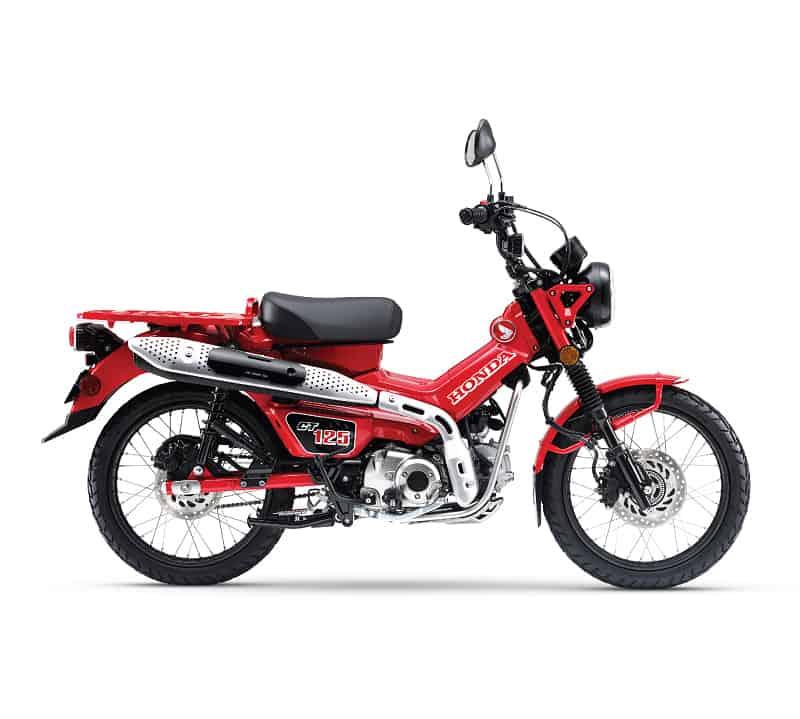 Honda CT125 Glowing Red