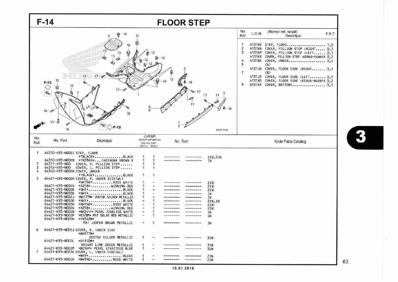 F14- Floor Step