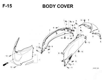 F15 Body Cover
