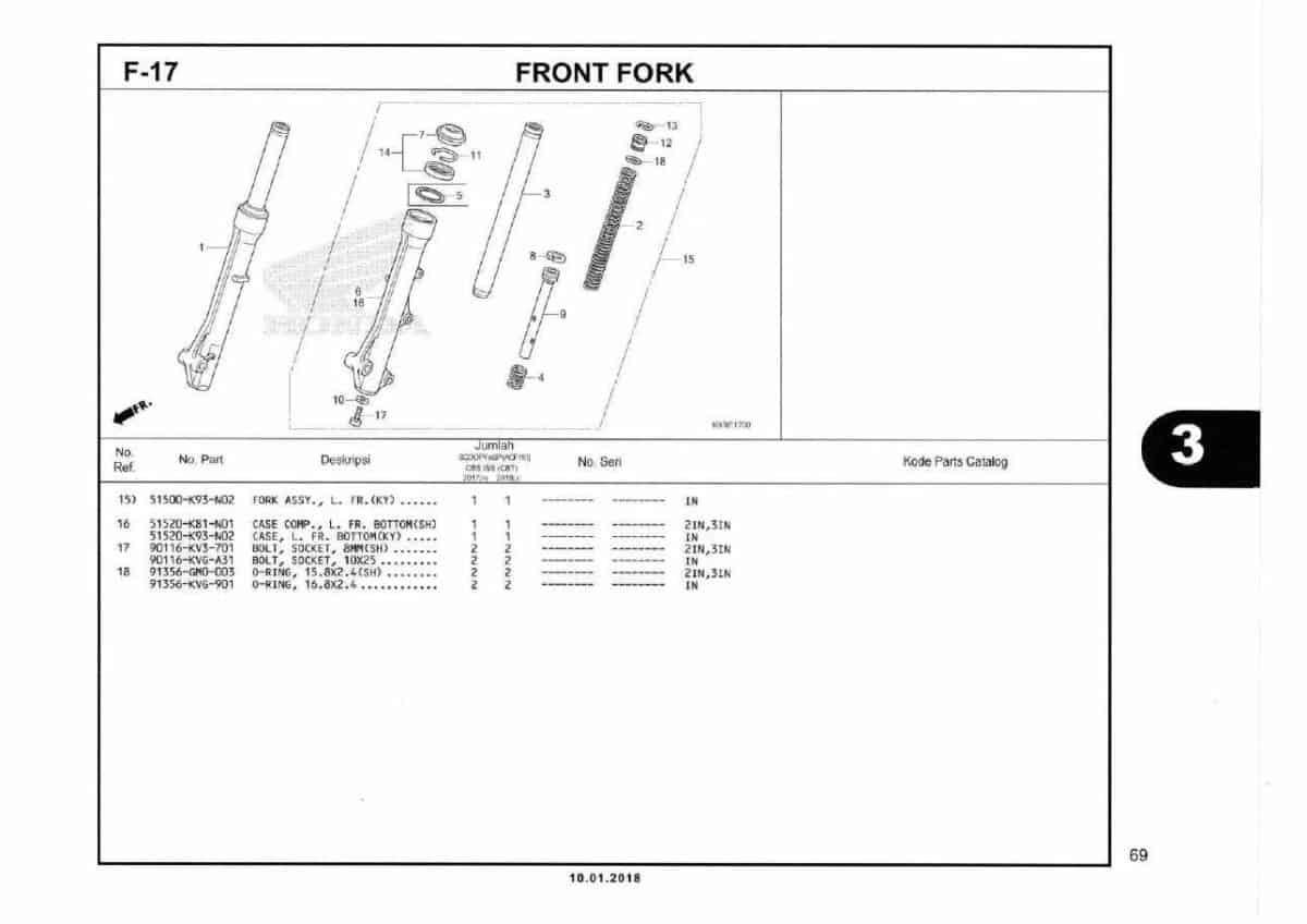 F17- Front Fork