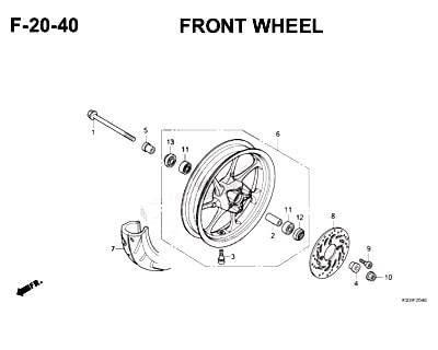 F20-40-Front Wheel