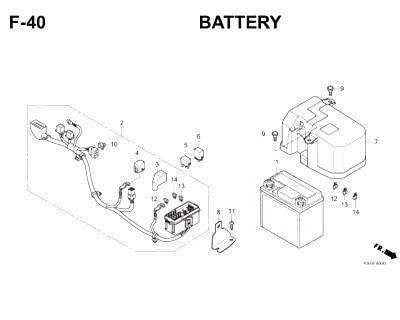 F40- Battery