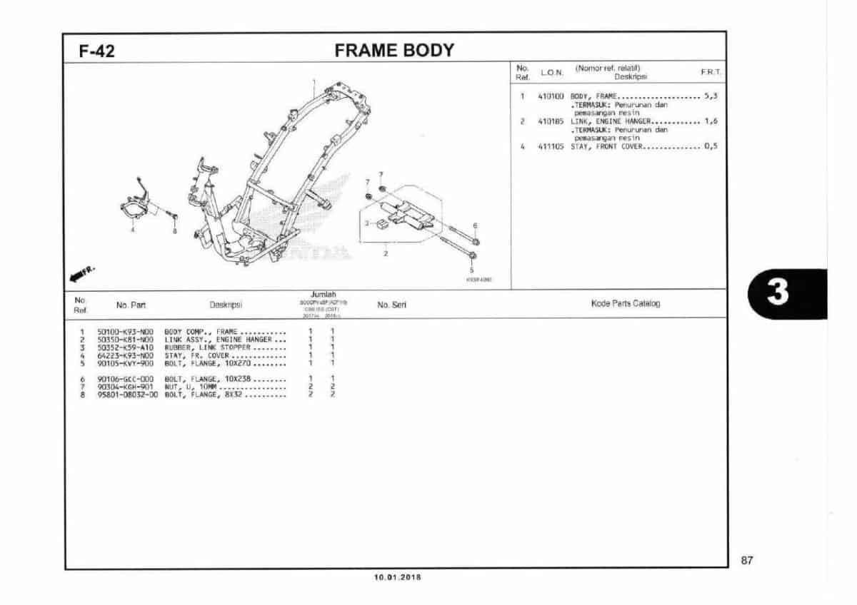 F42- Frame Body