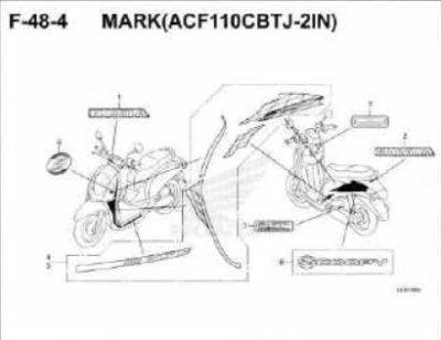 F48-4- Mark (ACF110CBT-2IN) – Katalog Honda Scoopy eSP K93H