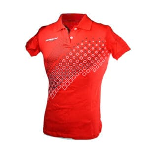 SPACY POLO SHIRT RED W-M AHPS0102006