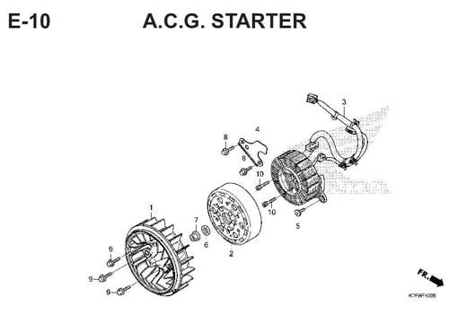 E-10-A.C.G.-STARTER