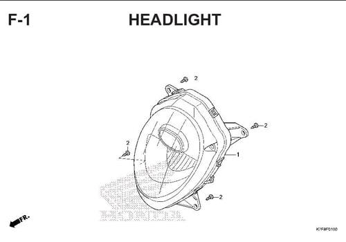 F-1-HEADLIGHT