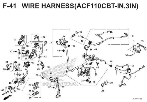 F-14 Floor Step – Katalog Honda Scoopy eSP K2F