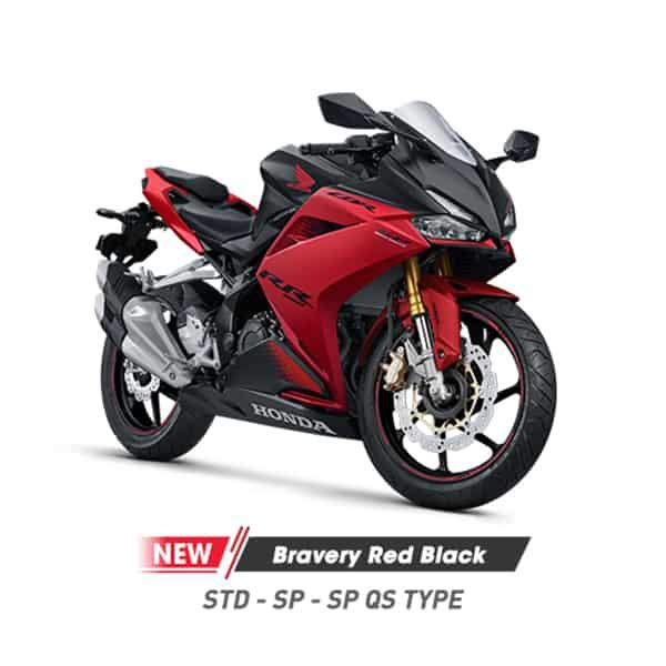 New Honda CBR 250RR K64 Bravery Black Red