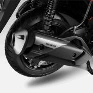 Garnish Cover Muffler Honda PCX 160