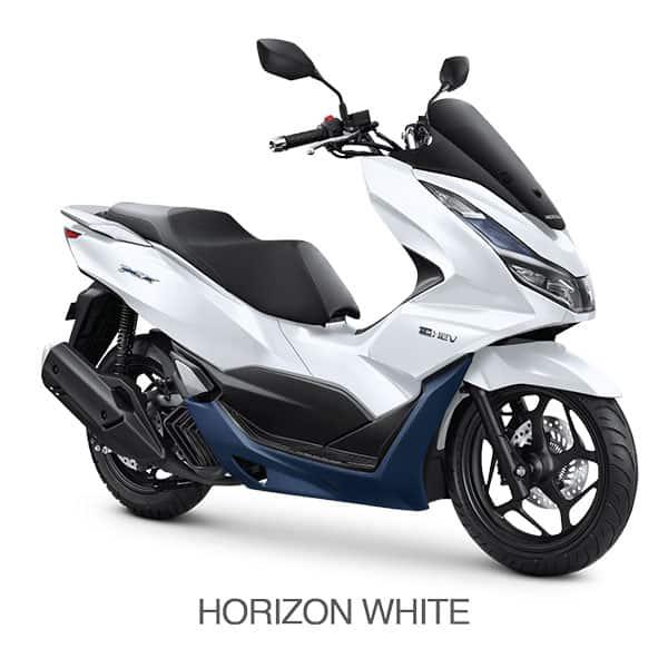 Honda PCX 160 E HEV Horizon White