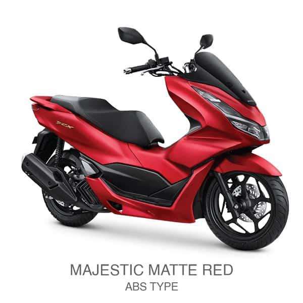 Honda PCX 160 Majestic Matte Red ABS