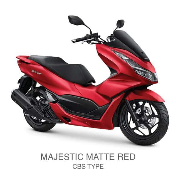 honda-pcx-160-majestic-matte-red