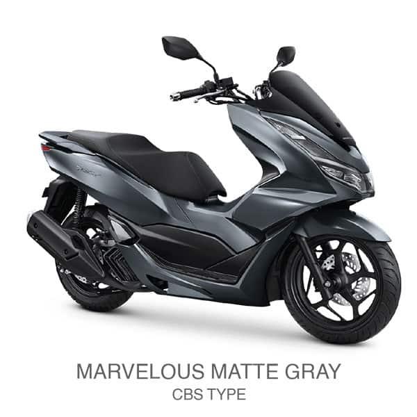 honda-pcx-160-marvelous-matte-gray