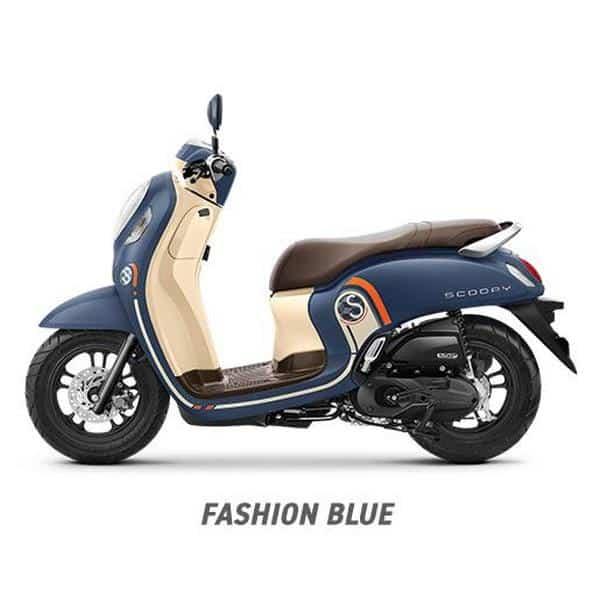 Scoopy K2F Fashion Blue