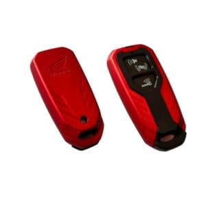 Smart Key Remote Cover Honda PCX 160 Merah