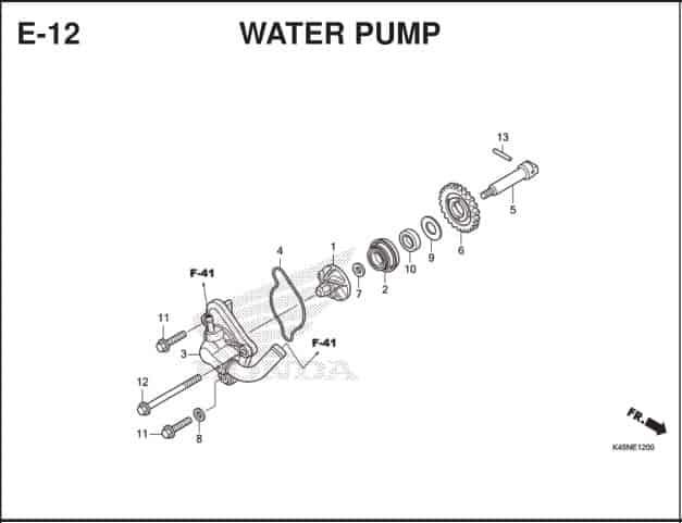 E-12 Water Pump