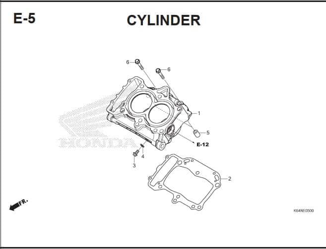 E-5 Cylinder