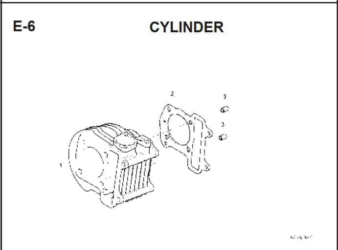E-6 Cylinder