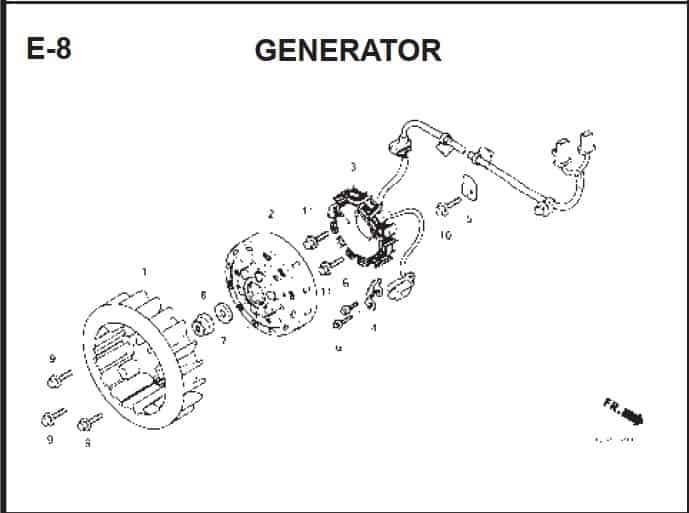 E-8 Generator