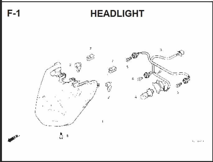 F-1 Headlight