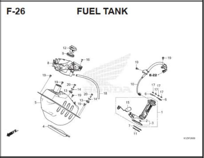 F-26 Fuel Tank