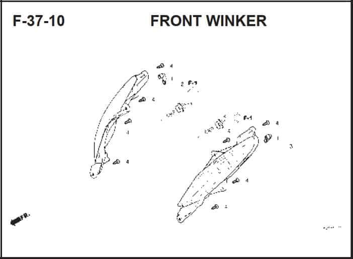 F-37-10 Front Winker