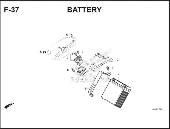 F-37 Battery
