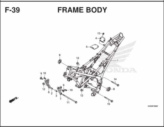 F-39 Frame Body