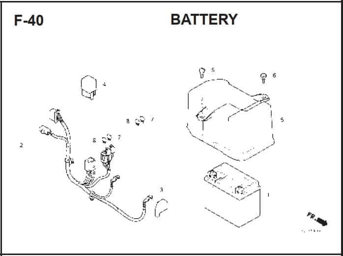 F-40 Battery