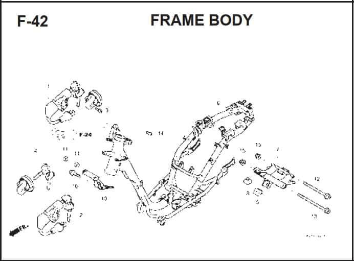 F-42 Frame Body