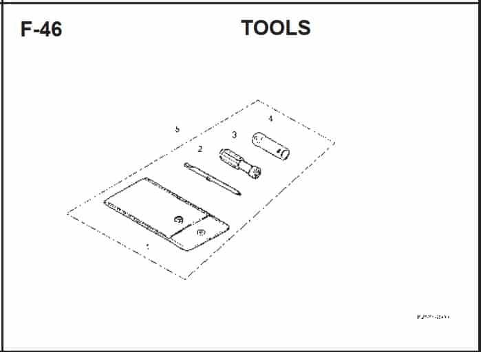 F-46 Tools – Katalog Suku Cadang Honda BeAT FI K25A