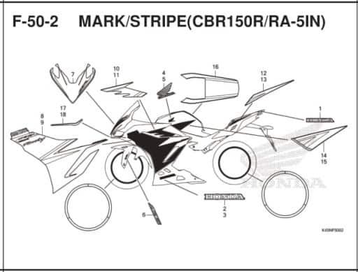 F-50-2 Mark Stripe