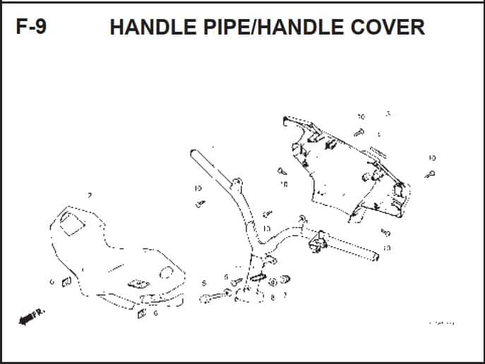 F-9 Handle Pipe