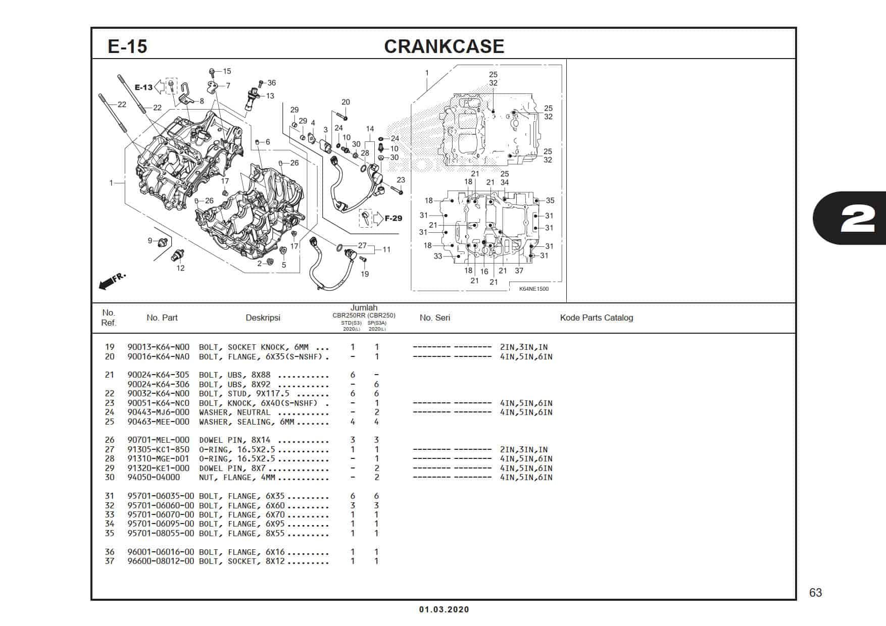 E-15 CrankCase
