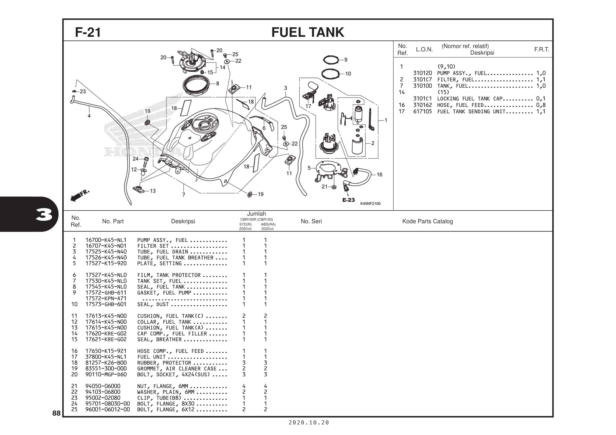 F-21 Fuel Tank
